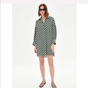 Zara Tunic w/ contrasting sleeves